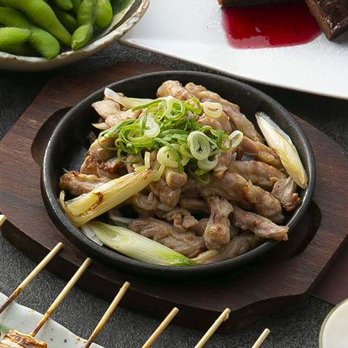 ひね鶏orセセリの鉄板焼き